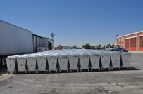 ÇÖP KONTEYNERİ - Cihanbeyli'ye 500 Adet Yeni Çöp Konteyneri