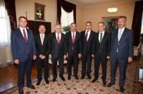KARADENİZ EKONOMİK İŞBİRLİĞİ - Kırıkkale Protokolünden Başbakan'a Ziyaret