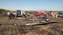 EĞİTİM UÇAĞI - Tekirdağ'da Eğitim Uçağı Düştü Açıklaması 2 Ölü