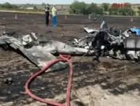 EĞİTİM UÇAĞI - Tekirdağ'da eğitim uçağı düştü