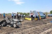 EĞİTİM UÇAĞI - Tekirdağ'daki Uçak Kazası
