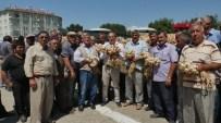 Başkan Arslan, Sarımsak Pazarını Ziyaret Etti