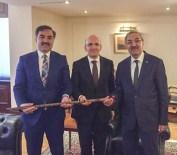 MEHMET ŞİMŞEK - Başkan Çoban'ın Ankara Ziyareti