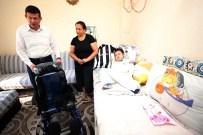 SEVINDIK - Başkan Subaşıoğlu'ndan Beşiktaşlı Mehmet'e Tekerlekli Sandalye Desteği