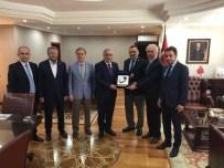 VURAL KAVUNCU - Başkan Ve Milletvekillerinden TOKİ Başkanı Ergün Turan'a Ziyaret