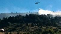 Derbent'te Ormanlık Alanda Çıkan Yangın Söndürüldü