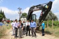 Ergenekon Mahallesi'ndeki İçme Suyu Hattı Çalışmaları Sürüyor