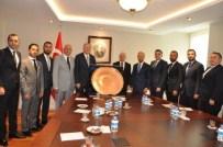 MEHMET GÖKDAĞ - GAGİAD'tan Başbakan Yardımcısı Mehmet Şimşek Ve Gaziantep Milletvekillerine Ziyaret