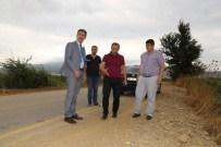 Manisa Büyükşehir'den Urganlı'yı Rahatlatan Yol Çalışması
