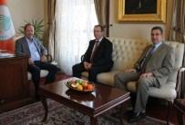 TRAKYA ÜNIVERSITESI - Trakya Üniversitesi Rektörü Tabakoğlu'ndan Edirne Belediye Başkanı Gürkan'a Ziyaret