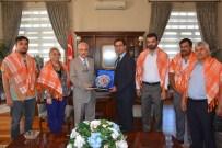 MEHMET ÇETIN - Vali Güvençer'e Ziyaretler Sürüyor