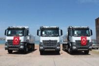 İNŞAAT MALZEMESİ - Ayvalık Belediyesi Makine Parkına 3 Kamyon Ekledi