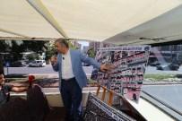 AĞIR VASITA - Büyükşehir Çalışıyor, Trafik Rahatlıyor
