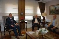 TRABZON VALİSİ - Trabzonspor Heyetinden, Vali Yavuz Ve Başkan Genç'e Ziyaret