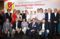 İFADE ÖZGÜRLÜĞÜ - Türkiye Gazeteciler Cemiyeti 'Basın Özgürlüğü Ödülleri' Verildi