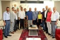 HALIL MEMIŞ - Başkan Ergün Akhisar MHP İlçe Teşkilatı'nı Ağırladı