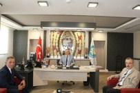 HALIL MEMIŞ - Karaköse'den Başkan Ergün'e Ziyaret