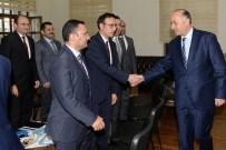 KARABÖRK - Kaymakamlar Toplantısı Vali Azizoğlu Başkanlığında Yapıldı