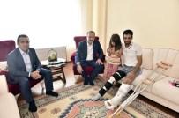 SES BOMBASI - Mamak'ın Kahraman Gazilerine Başkan Akgül'den Ziyaret