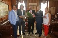 İZMIR VALILIĞI - TGF, ZGC Ve İGC'den İzmir Valisi Ayyıldız'a Ziyaret