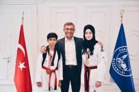 ÜSKÜDAR BELEDİYESİ - Üsküdar BelediyesiTekvando Şampiyonlarını Ödüllendirdi