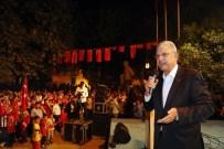 VOLKAN BOZKIR - Volkan Bozkır Kağıthanelilerle Demokrasi Nöbetinde