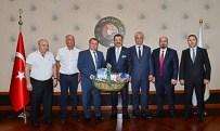 YÜKSEK YARGI - Biga TSO Heyeti TOBB Başkanı Hisarcıklıoğlu'nu Ziyaret Etti