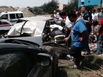 Hatay'da Trafik Kazası Açıklaması 2 Yaralı