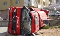 Hatay'da Yangına Giden İtfaiye Aracı Devrildi Açıklaması 1 Yaralı