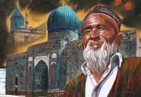 TASAVVUF - Hoca Ahmet Yesevi'nin Portresi Resmedildi