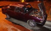 YARıMCA - Kontrolden Çıkan Otomobil Takla Attı Açıklaması 3 Yaralı