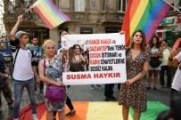 SEZGİN TANRIKULU - LGBTİ Derneği'nden Taksim'de Hande Kader Eylemi