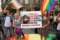 SEZGİN TANRIKULU - LGBTİ Derneği Üyeleri Sarıyer'de Cesedi Bulunan Hande Kader İçin Beyoğlu'nda Eylem Yaptı
