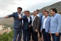 OKAY MEMIŞ - Maliye Bakanı Naci Ağbal Gümüşhane'de