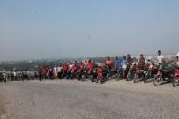 Motosikletli Gençlerden 'Şehitleri Saygı Ve Teröre Tepki' Etkinliği