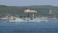 KIYI EMNİYETİ - Alman Savaş Gemisi Çanakkale'de