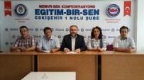 EMPERYALIZM - Eğitim Bir-Sen Eskişehir Şube Başkanı Muammer Karaman'dan Gaziantep Açıklaması