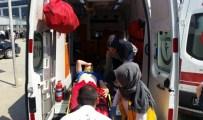 BELDIBI - Kontrolden Çıkan Tarım Aracı Devrildi Açıklaması 3 Yaralı