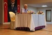 Prof. Dr. Atilla Yayla Burhaniye'de Panele Katıldı