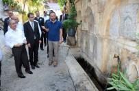 MUSTAFA AKIŞ - Vali Tapsız, Ermenek'te İncelemelerde Bulundu