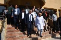 ŞANLIURFA VALİSİ - Vali Tuna Yaralı Polisleri Ziyaret Etti