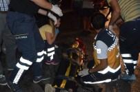 YOLCU MİNİBÜSÜ - Zonguldak'ta Minibüs Devrildi Açıklaması 4 Yaralı