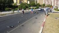 MEHMET ŞİMŞEK - Anamur Ören Kavşağında Kaza  Açıklaması 1 Yaralı