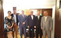ÖMER CIHAD VARDAN - Avcı, Türkmenistan Başkonsolosu'nu Ziyaret Etti