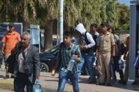 SIERRA LEONE - Ayvalık'ta 45 Kaçak Göçmen Yakalandı