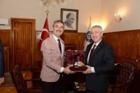 Başkan Şirin'den EÜ Rektörü Hoşcoşkun'a Ziyaret