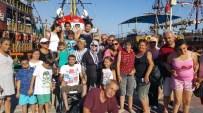 ENGELLİ ÇOCUK - Engelsiz Yaşam Ve Farkındalık Derneği Üyesi 80 Engelli Çocuk Ve Genç Antalya'yı Gezip, Eğlendi