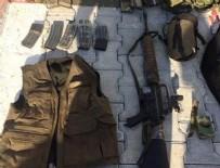 Hatay'da yakalanan teröristin üzerinden m-16 çıktı