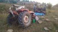 Kastamonu'da Traktör Kazası Açıklaması 1 Yaralı
