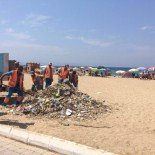 GÜZELÇAMLı - Kuşadası'nda Sahil Temizliği